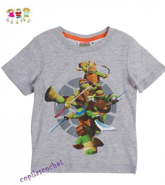 Tricou Testoasele Ninja (gri) 1