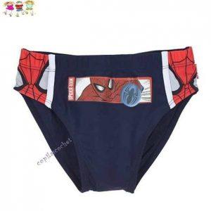 Slip de baie Spiderman (bleumarin) 1