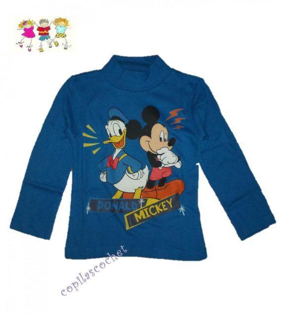 Helanca Mickey Mouse si Donald (albastru) 1