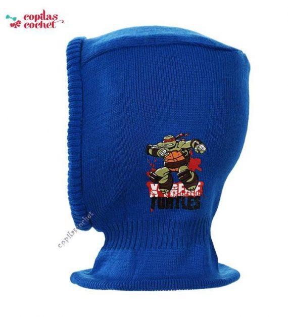 Cagula Testoasele Ninja (albastru) 1