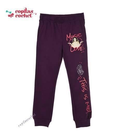 Pantaloni trening Violetta (mov) 1