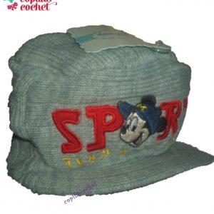 Sapca Mickey Mouse (gri)