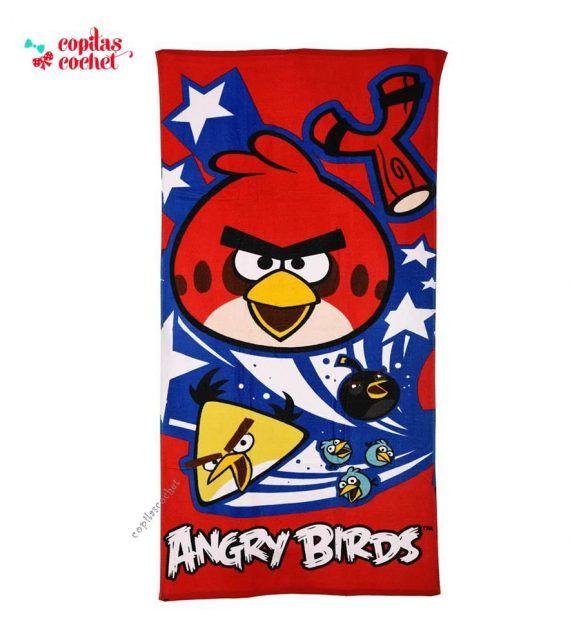 Prosop de plaja Angry Birds 1