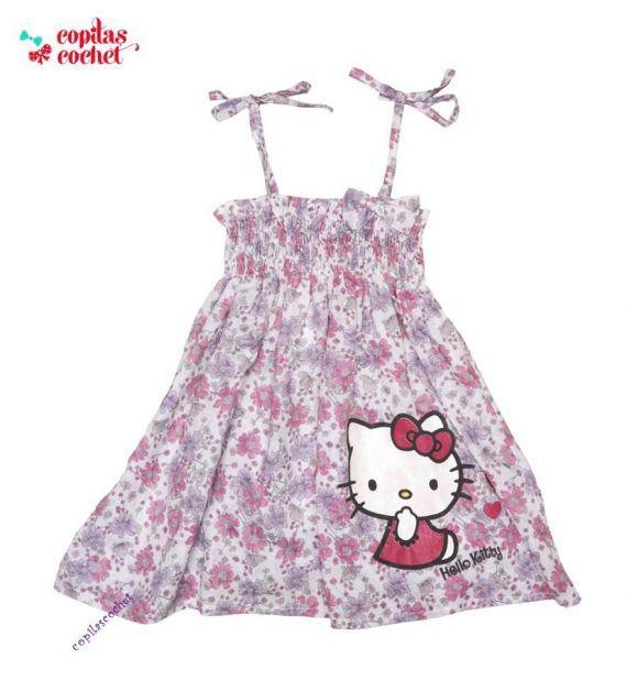 Rochie Hello Kitty (bretele) 1