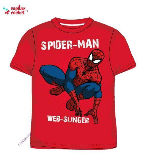 Tricou Spiderman (rosu) 1