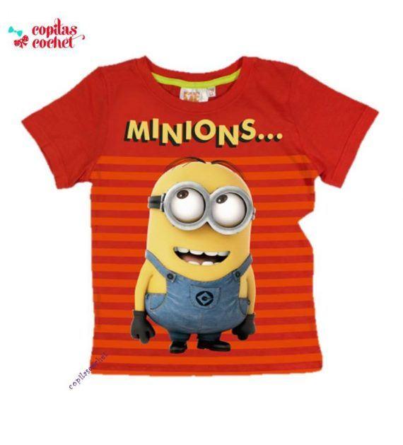 Tricou Minions (rosu) 1