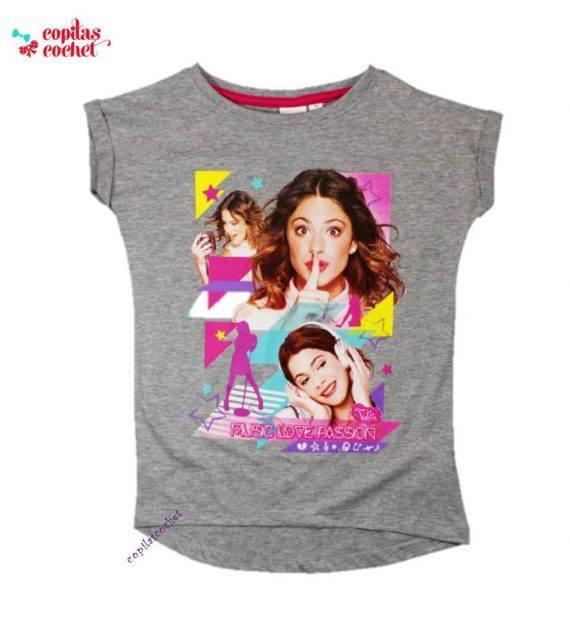 Tricou Violetta (gri) 1