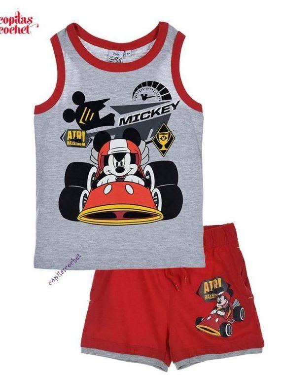 Compleu de vara Mickey Mouse (gri) 1