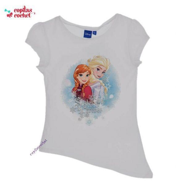 Tricou Frozen (alb) 1