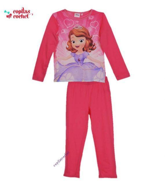 Pijamale Sofia (fucsia) 1