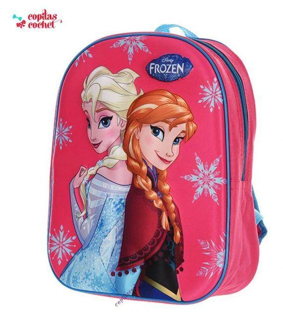 Ghiozdan 3D Frozen 1