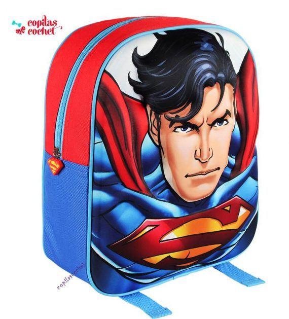 Ghiozdanel 3D Superman 1