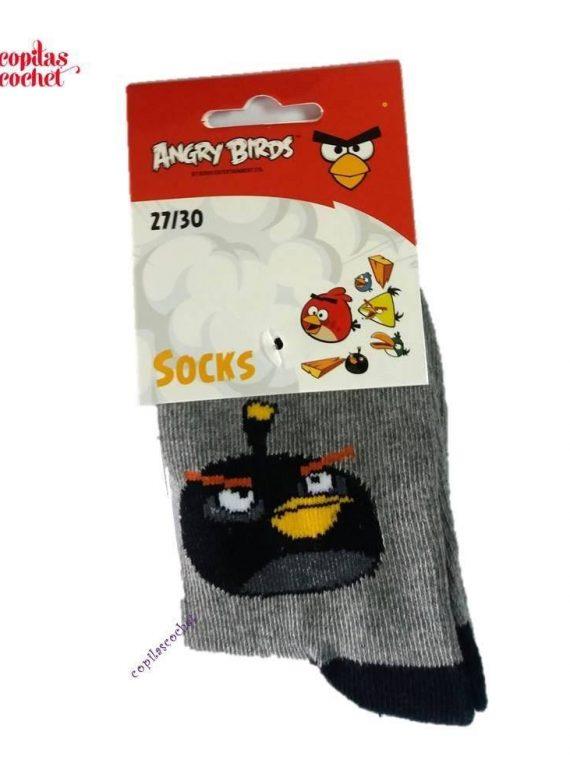 Sosete Angry Birds (gri) 1