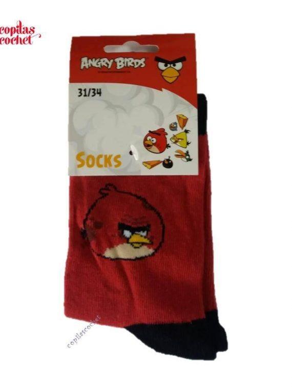Sosete Angry Birds (rosu) 1