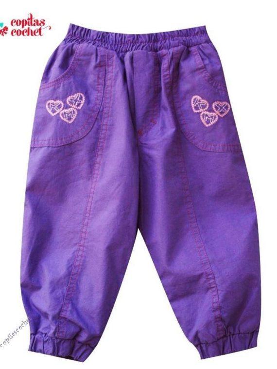 Pantaloni mov bebe(sezon rece) 1