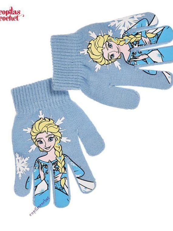 Manusi Frozen (bleu) 1