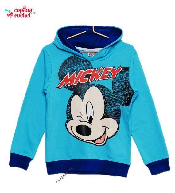 Hanorac Mickey Mouse (albastru) 1