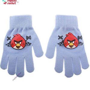 Manusi Angry Birds (bleu) 1