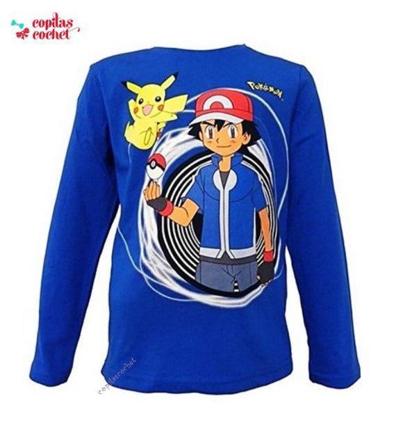 Bluza Pokemon (albastru) 1
