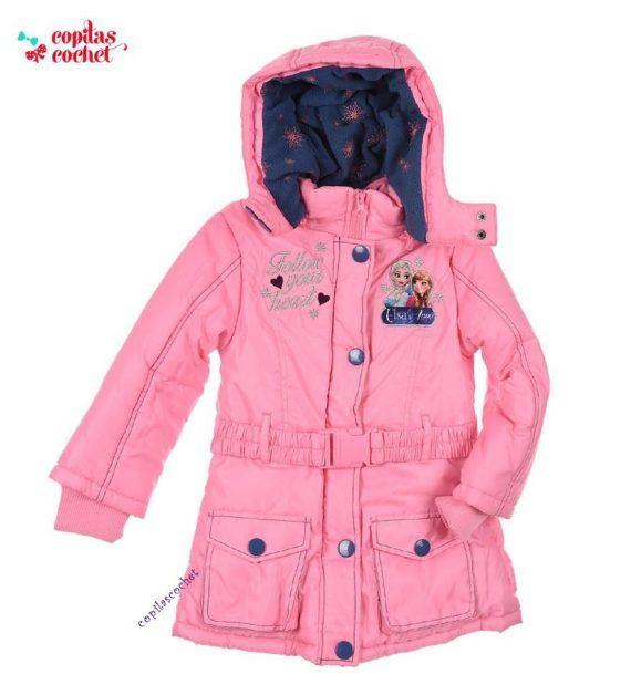 Geaca Frozen (roz) 1