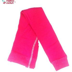 Colanti tricotati fucsia 1