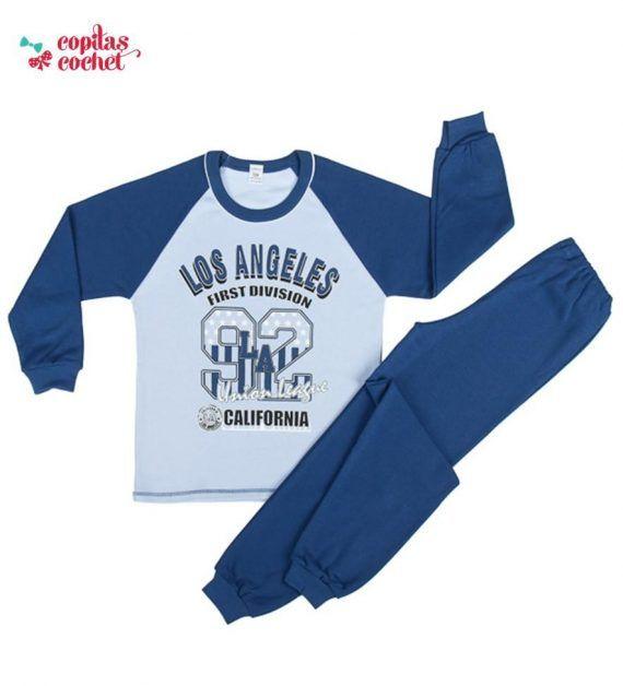 Pijamale bleumarin Los Angeles 1