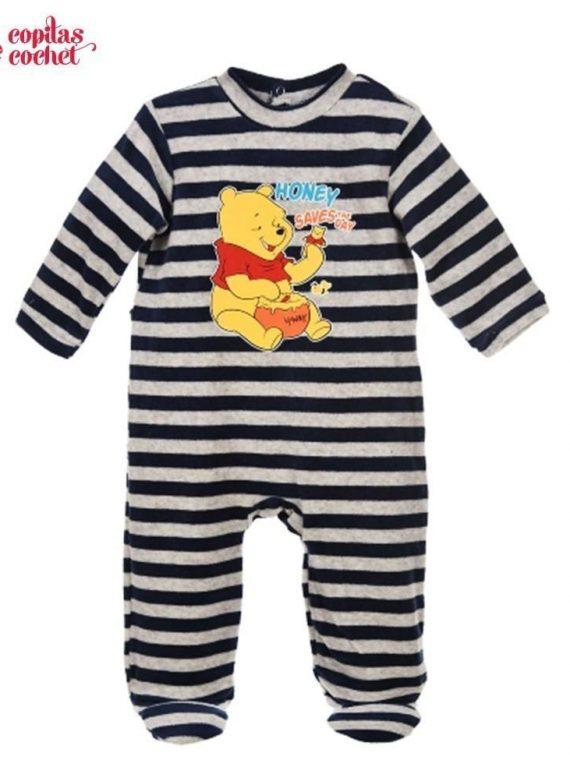 Salopeta bebe Winnie (bleumarin)