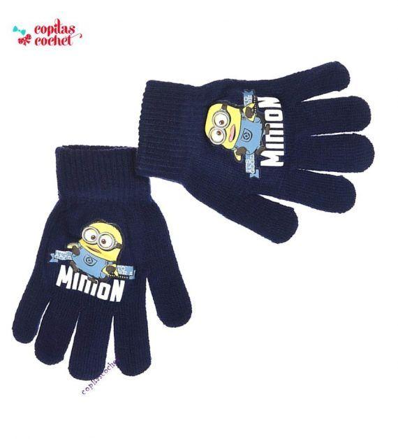 Manusi Minions (bleumarin) 1