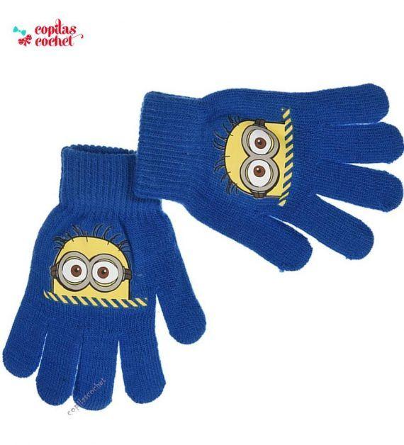 Manusi Minions (albastru) 1