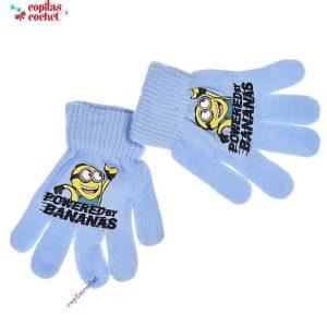 Manusi Minions (bleu) 1