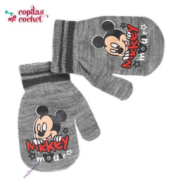 Manusi bebe Mickey Mouse (gri) 1