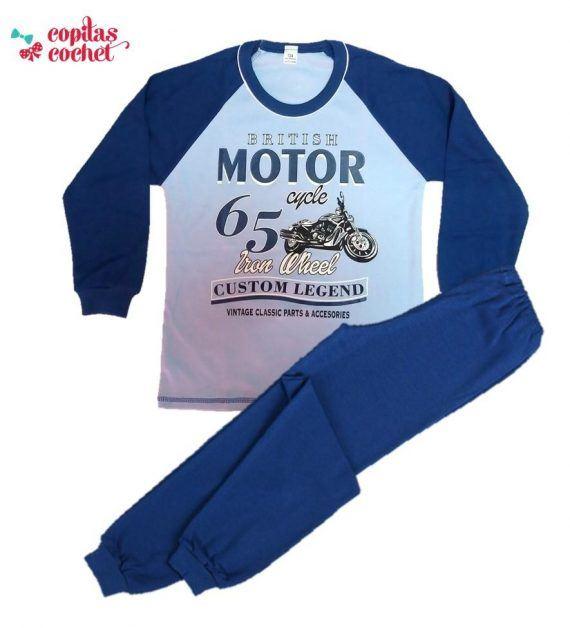 Pijamale vatuite British Motorcycle 1