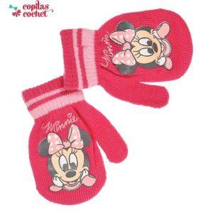 Manusi bebe Minnie Mouse (fucsia) 1