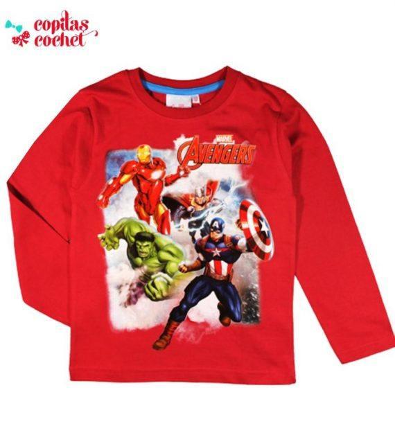 Bluza Avengers (rosu) 1