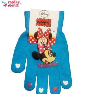 Manusi Minnie Mouse (turcoaz) 1