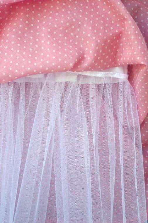 Rochie roz pal buline