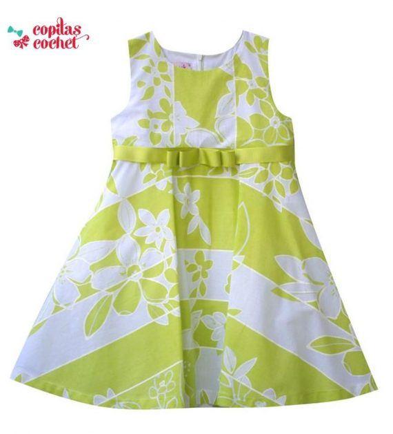 Rochie flori (verde crud) 1