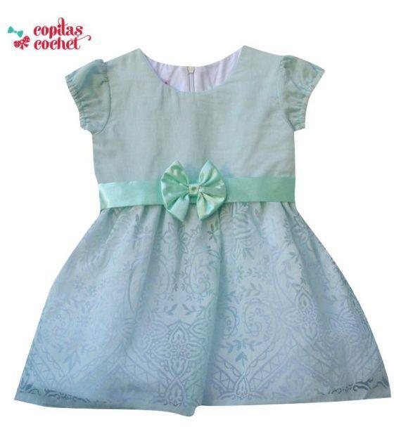 Rochie bebe verde 1