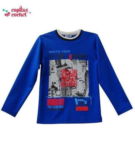 Bluza copii QR code 1