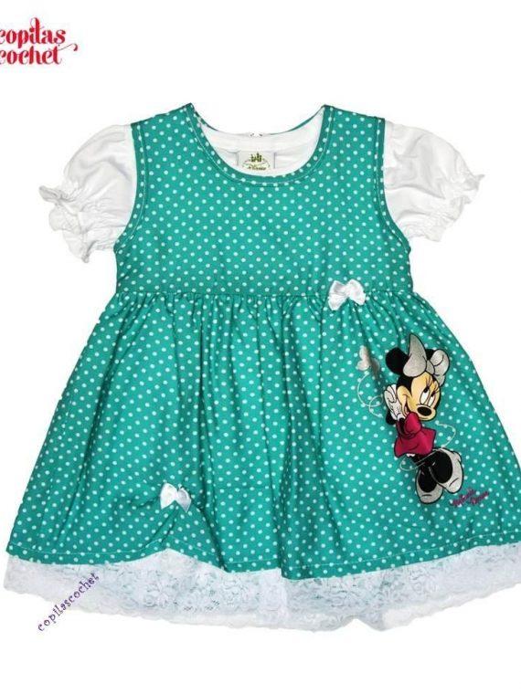 Rochie bluza bebe Minnie Mouse 1