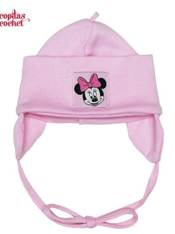 Caciulita bebe Minnie Mouse (roz) 1
