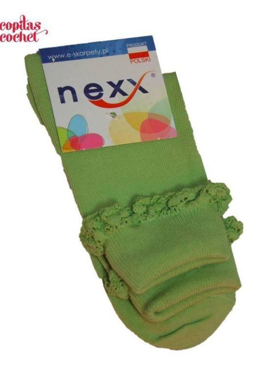 Sosete dantela (verde) 1