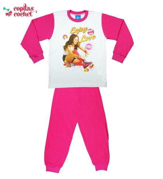 Pijamale Soy Luna (fucsia) 1