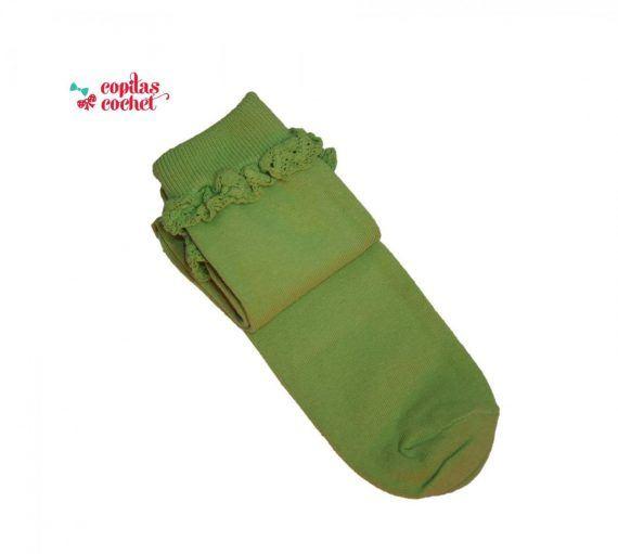 Sosete dantela (verde)