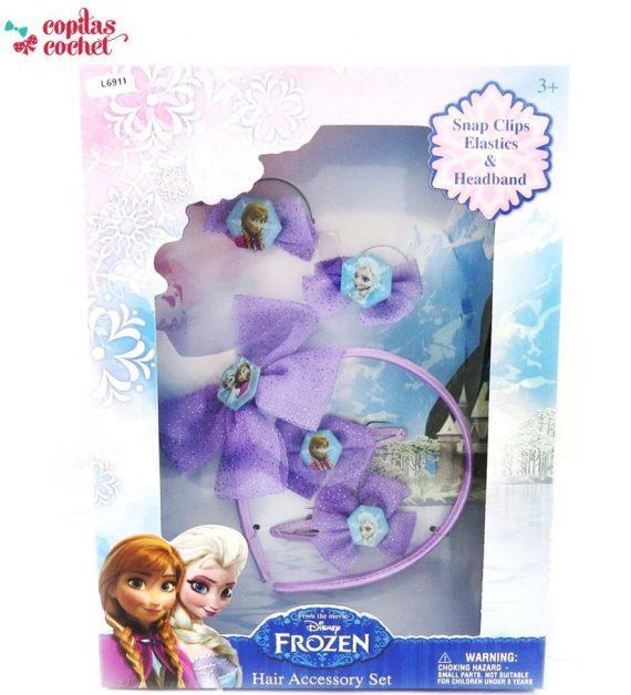 Set accesorii de par Frozen (premium) 1