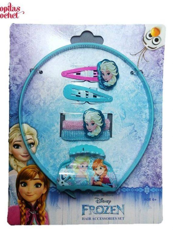Set accesorii de par Frozen (6 piese) 1