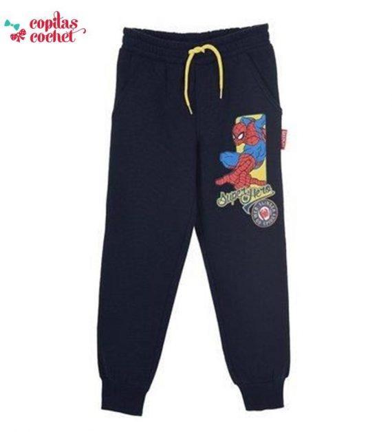 Pantaloni trening Spiderman (bleumarin) 1