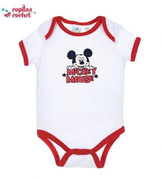 Body vara Mickey Mouse (rosu) 1