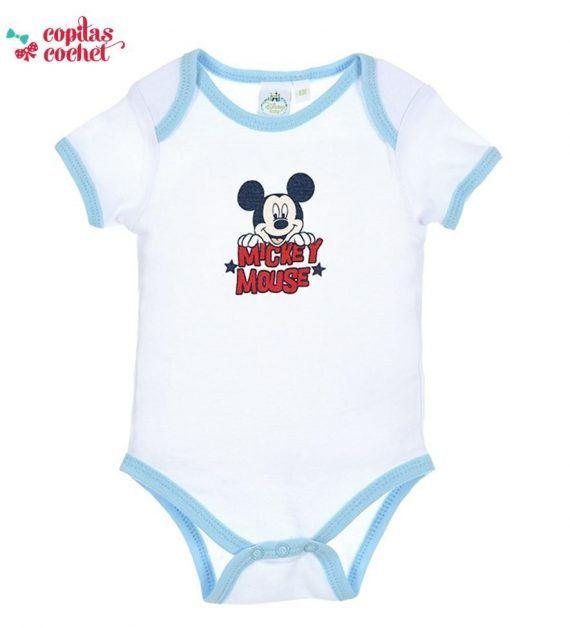 Body vara Mickey Mouse (bleu) 1