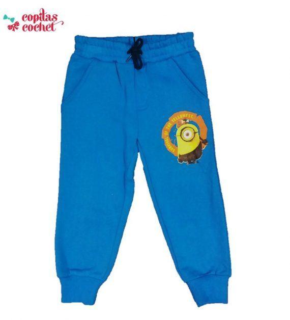 Pantaloni trening Minions (albastru) 1
